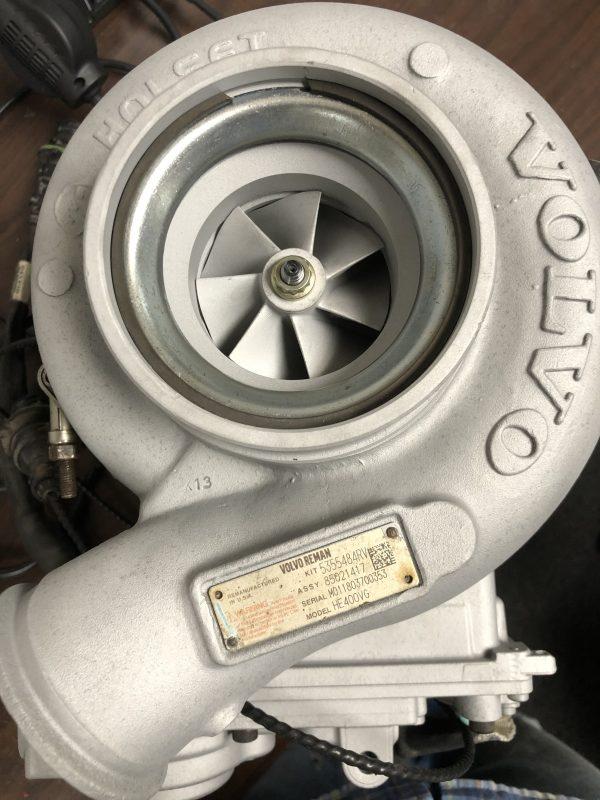 Rebuilt turbo